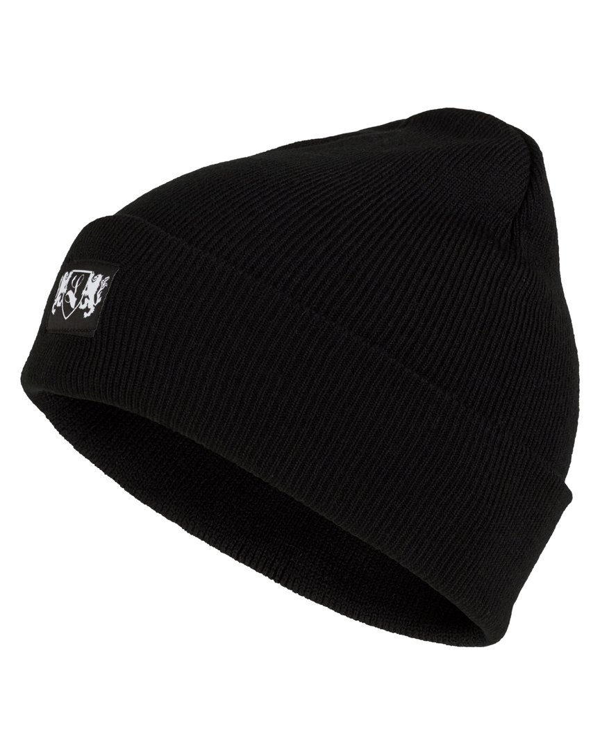 "Knitted Cap ""Blazon"" black"