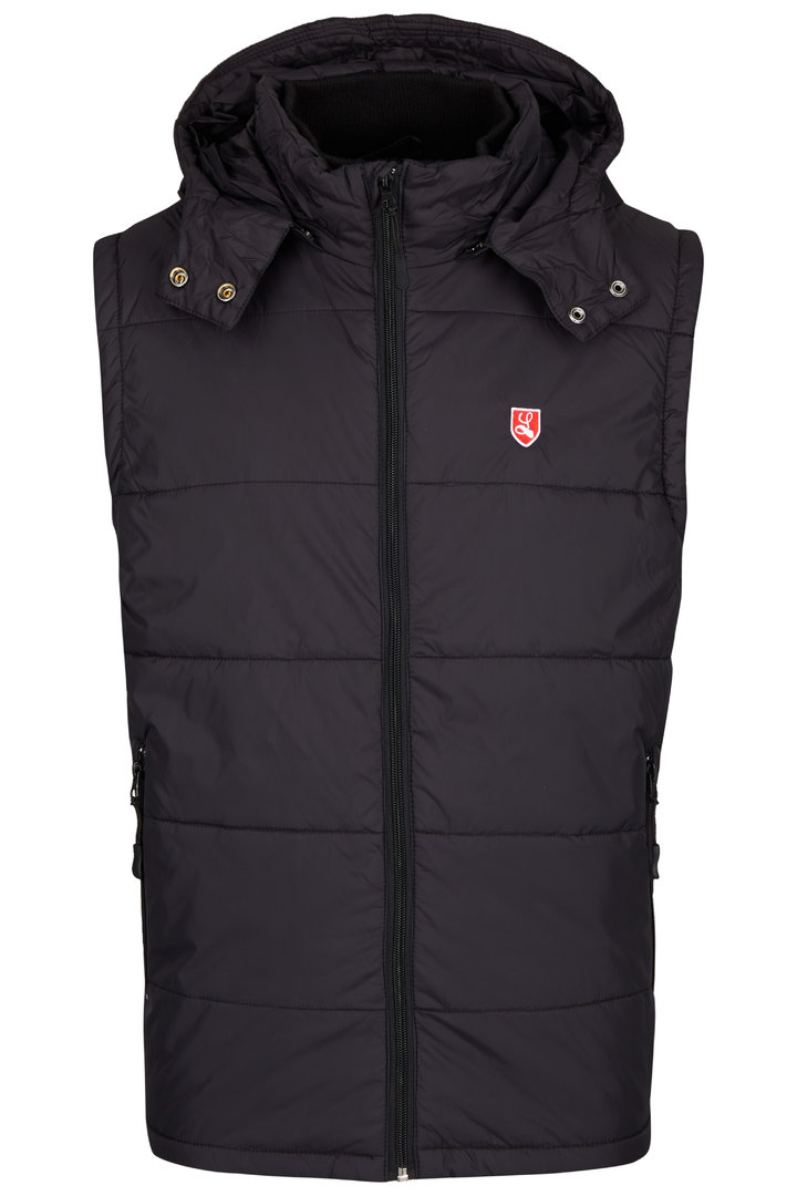 "Padded Vest ""Buckler"" black"