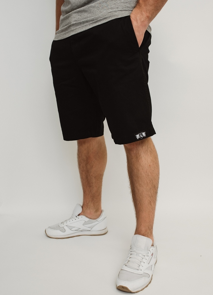 "Chino Short ""Blazon"" black"