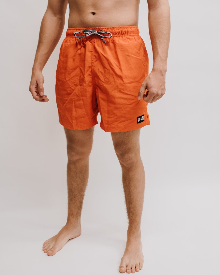 "Swim Short ""Blazon"" orange"