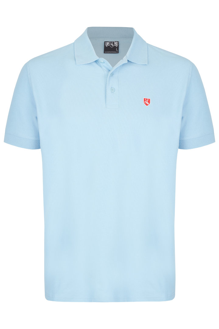 "Polo-Shirt ""Buckler"" royal blau"