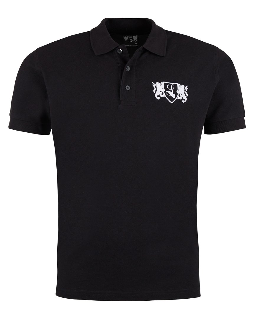 "Polo-Shirt ""Blazon"" schwarz"
