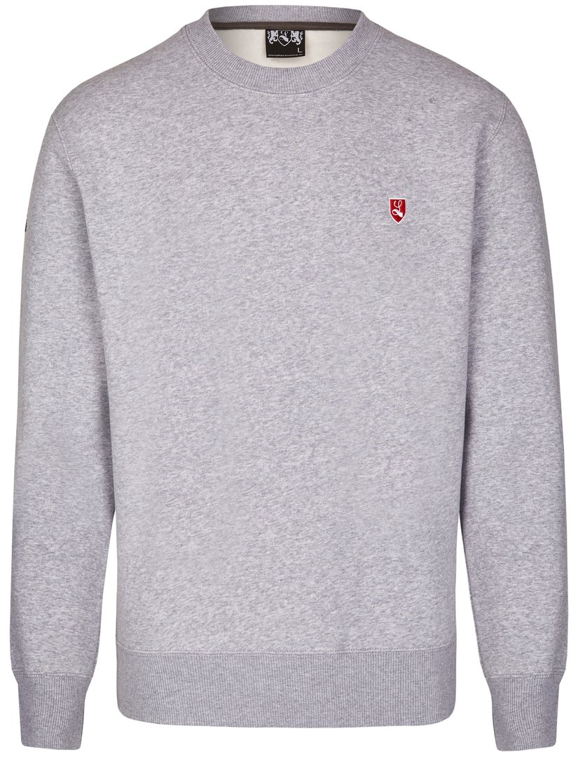 "Sweat-Shirt ""Buckler"" grau"