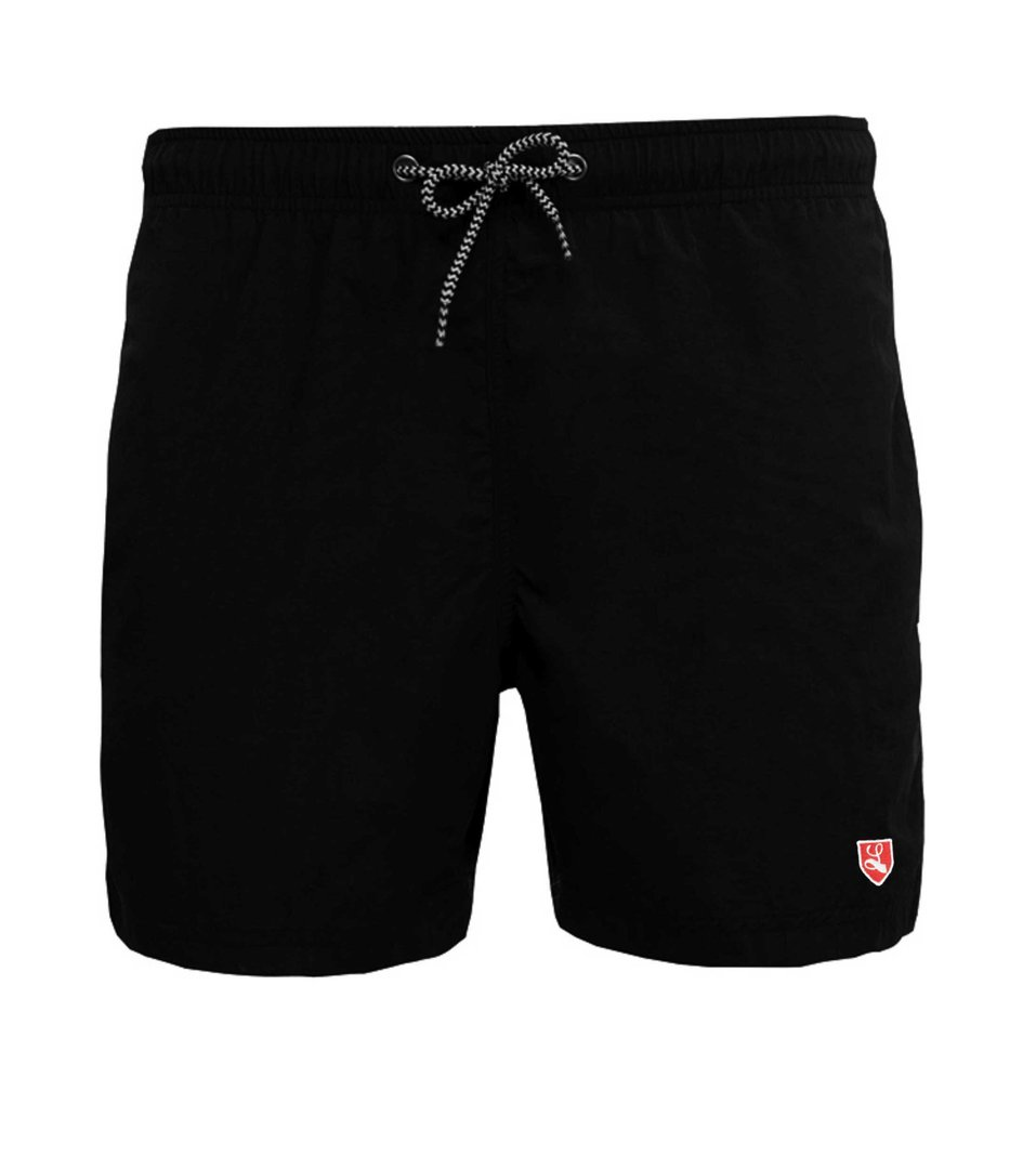 "Swim Short ""Buckler"" black"