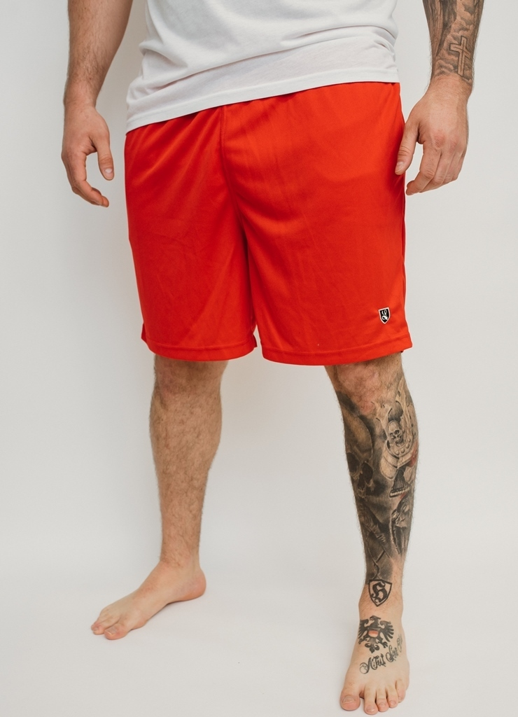 "Sport Short ""Buckler"" red"