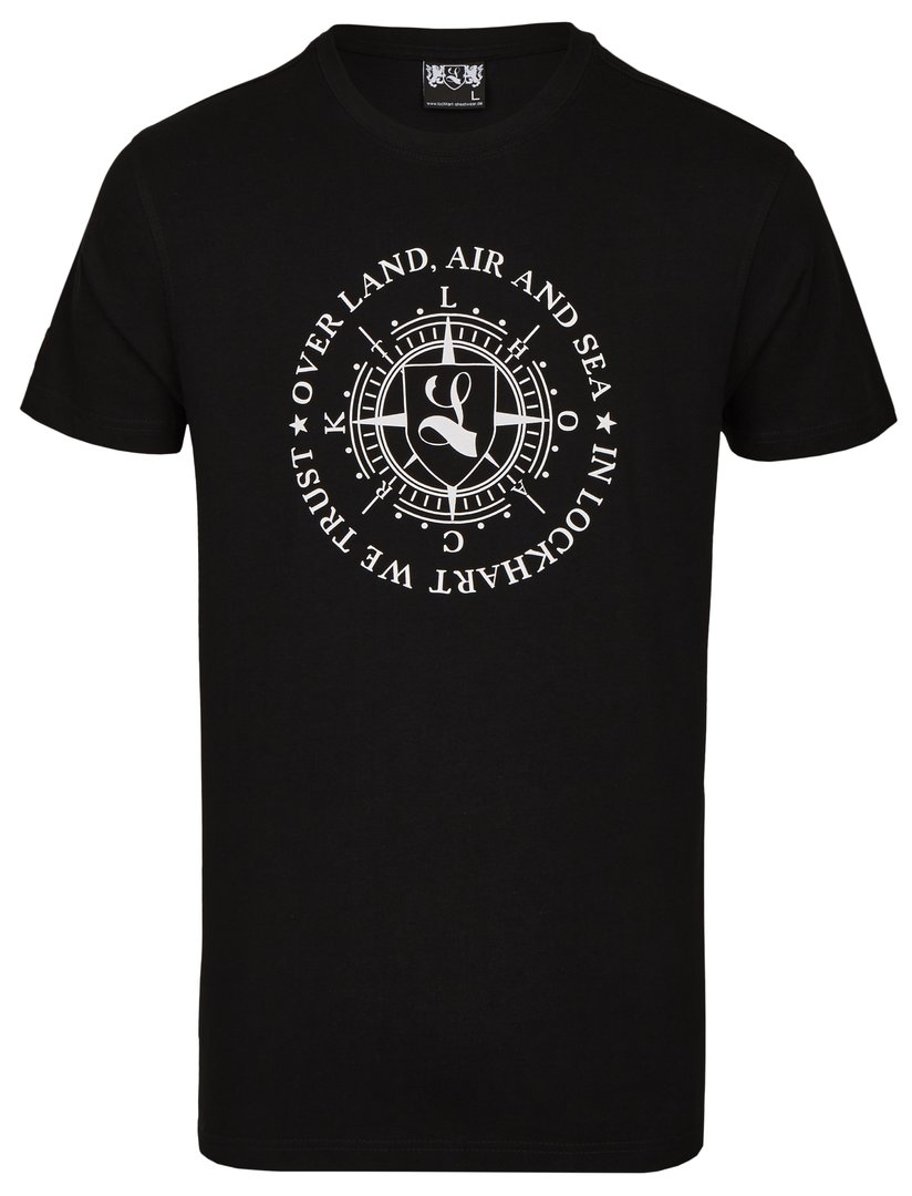 "T-Shirt ""Over Land, Air and Sea"" black"