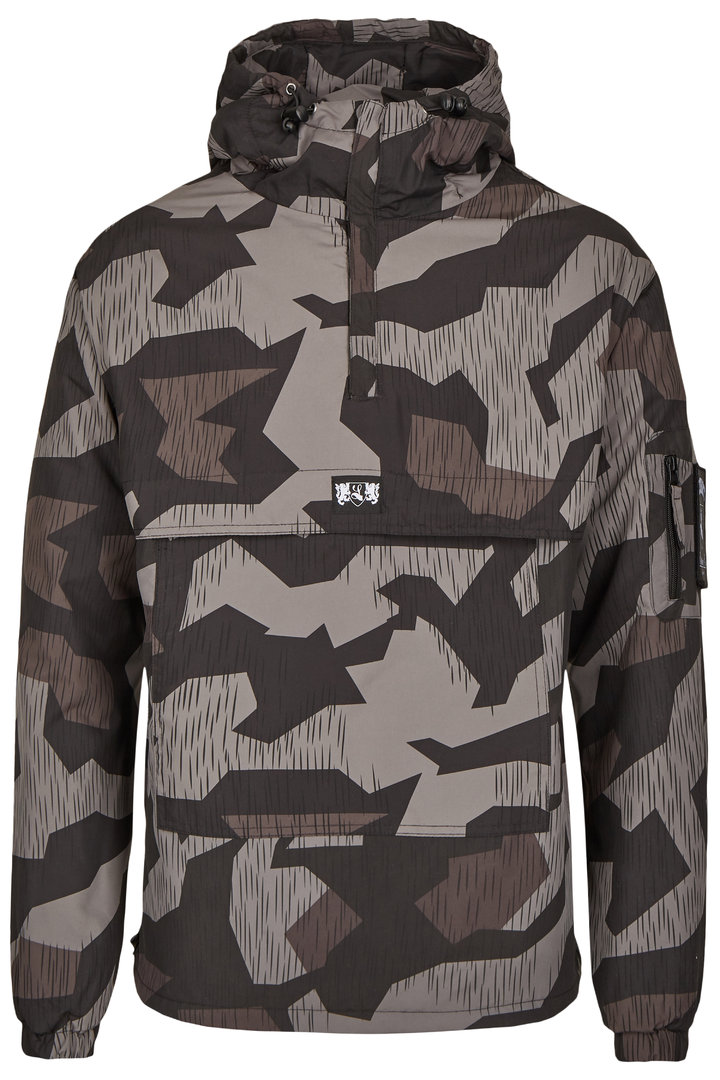 "Winter Overhead Anorak ""Blazon"" fleece gefüttert night camo"