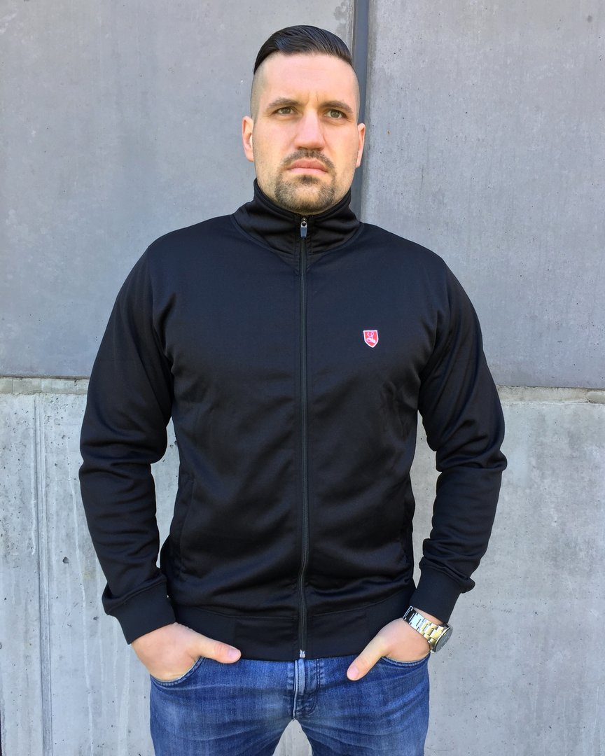 "Trainingsjacke ""Buckler"" schwarz"