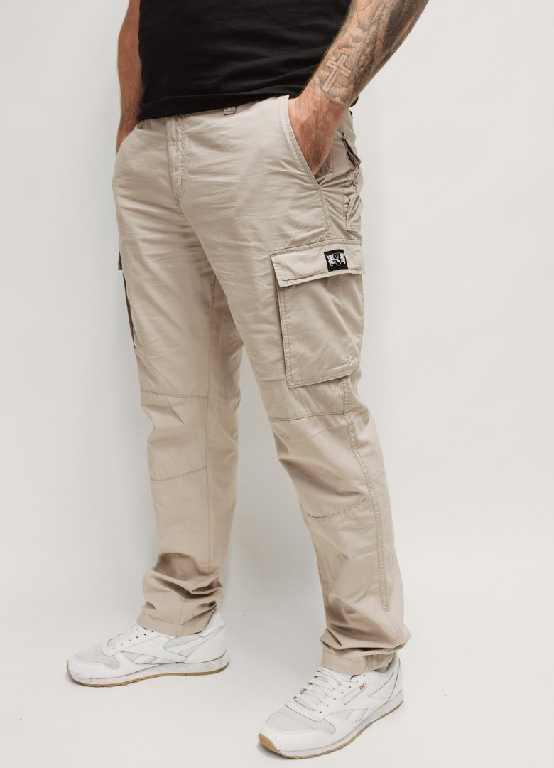 "Lightweight Cargo Pants ""Blazon"" beige"