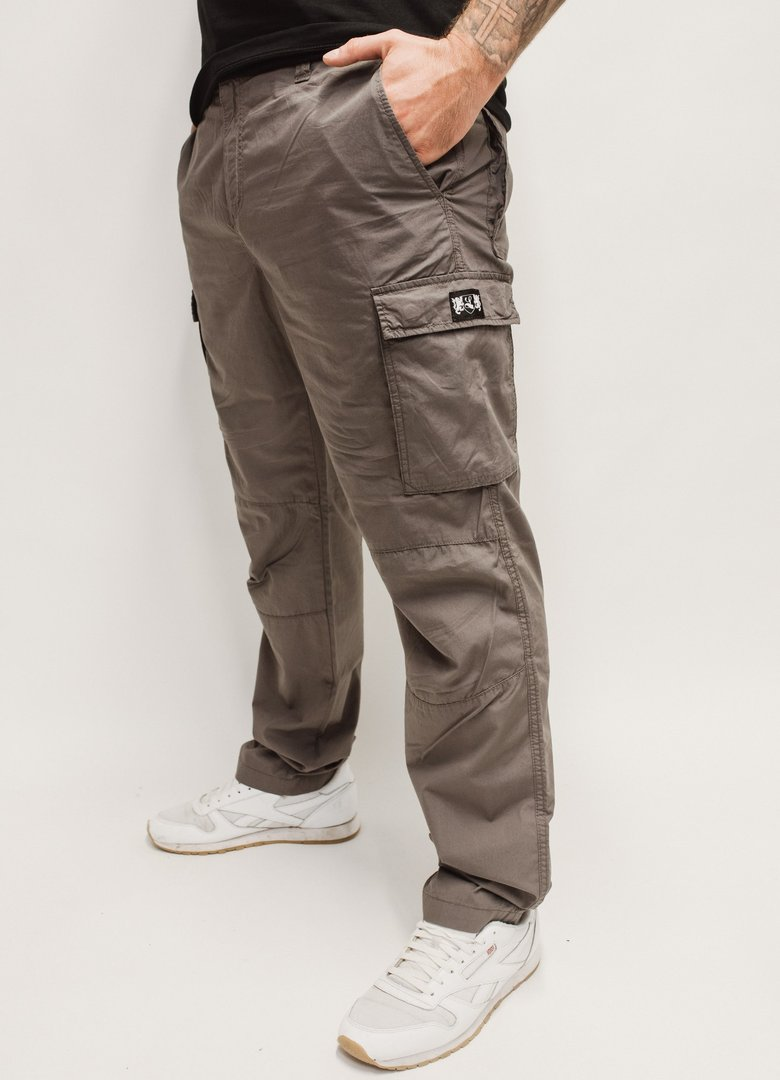 "Lightweight Cargo Pants ""Blazon"" charcoal"