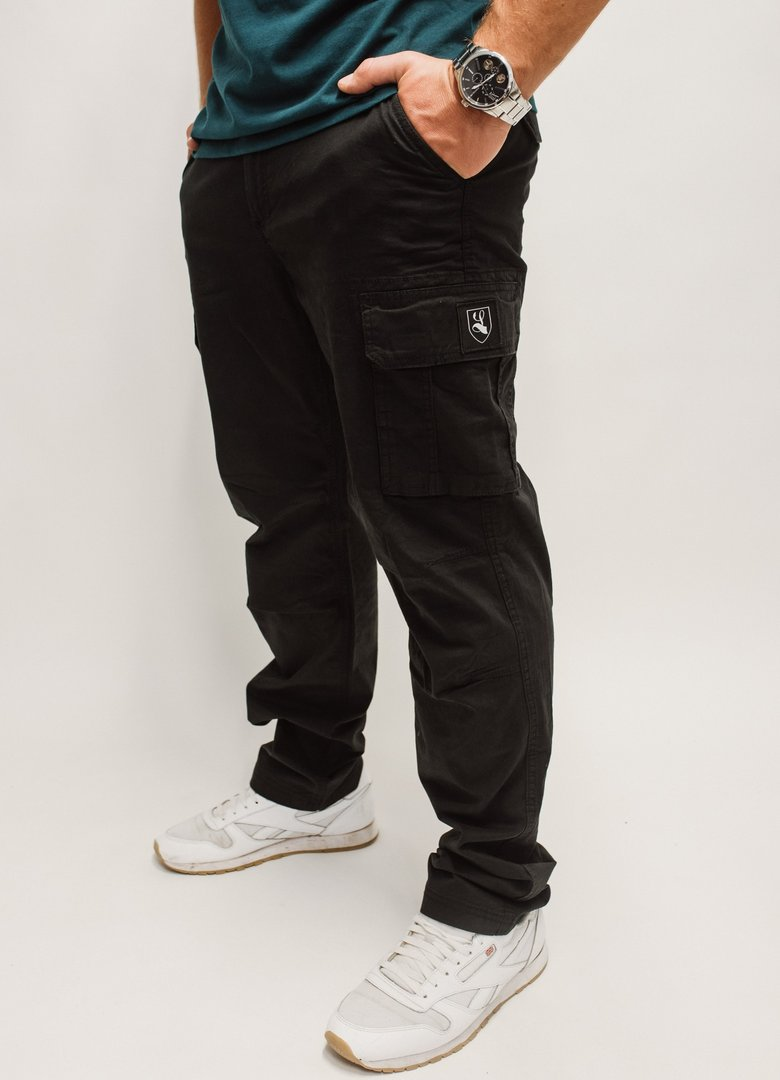 "Cargo Pants ""Buckler"" black"