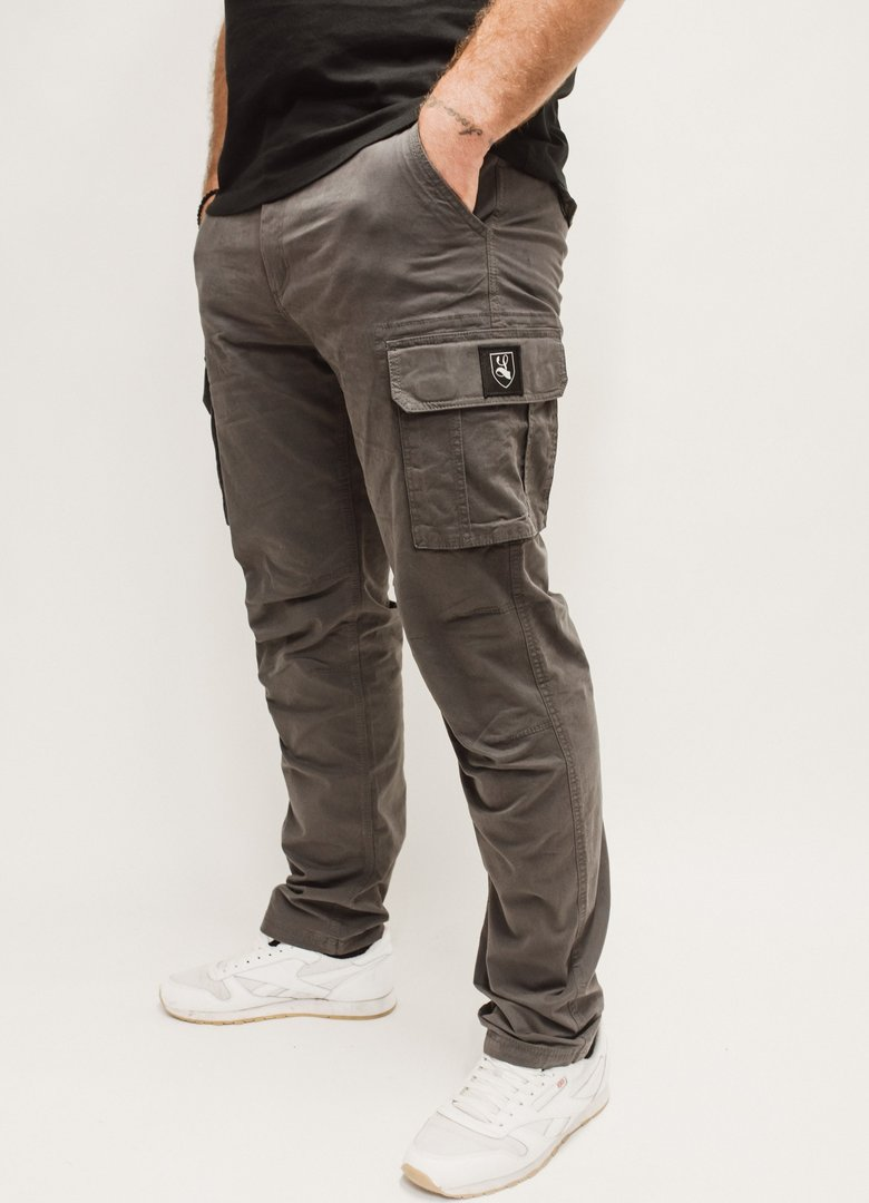 "Cargo Pants ""Buckler"" dark grey"