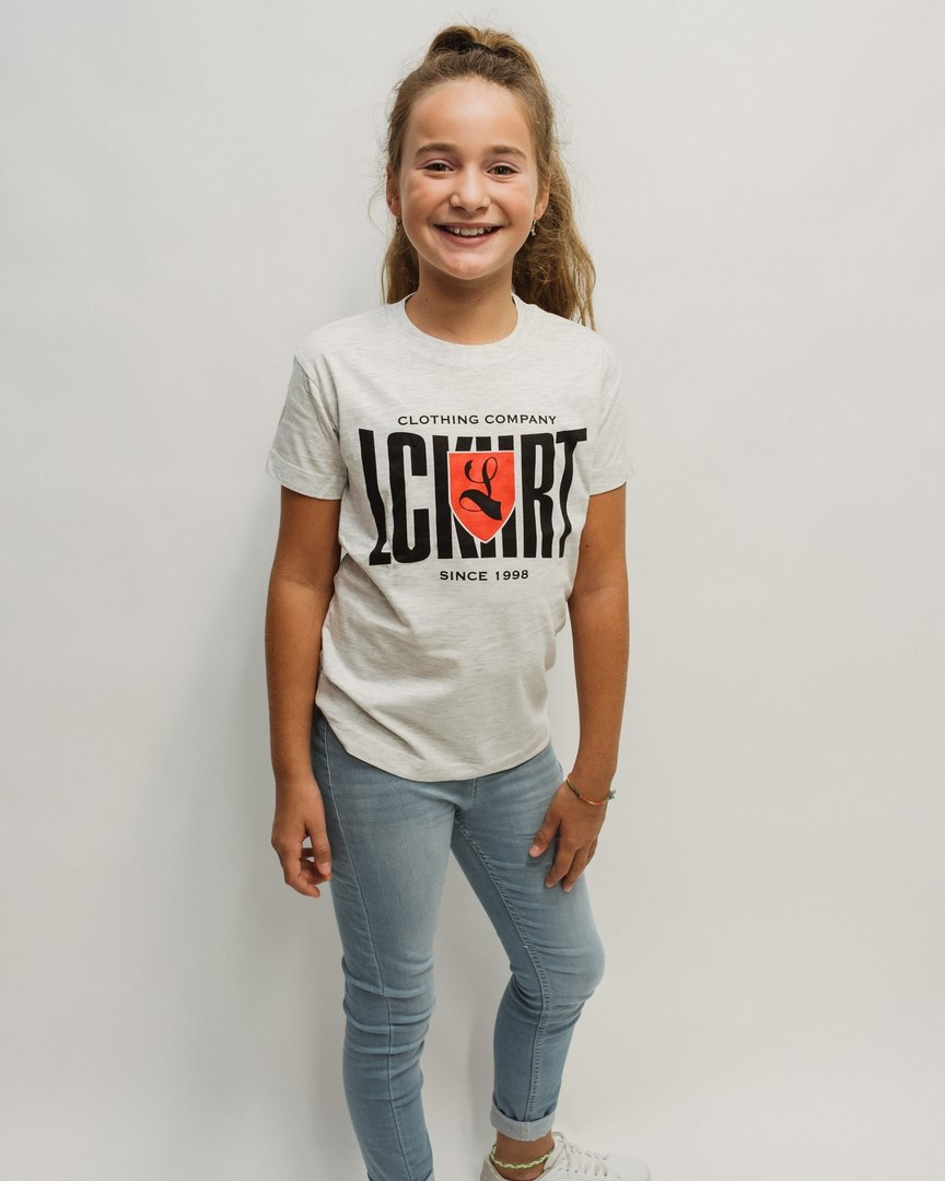 "Kids T-Shirt ""Culture"" grau meliert"
