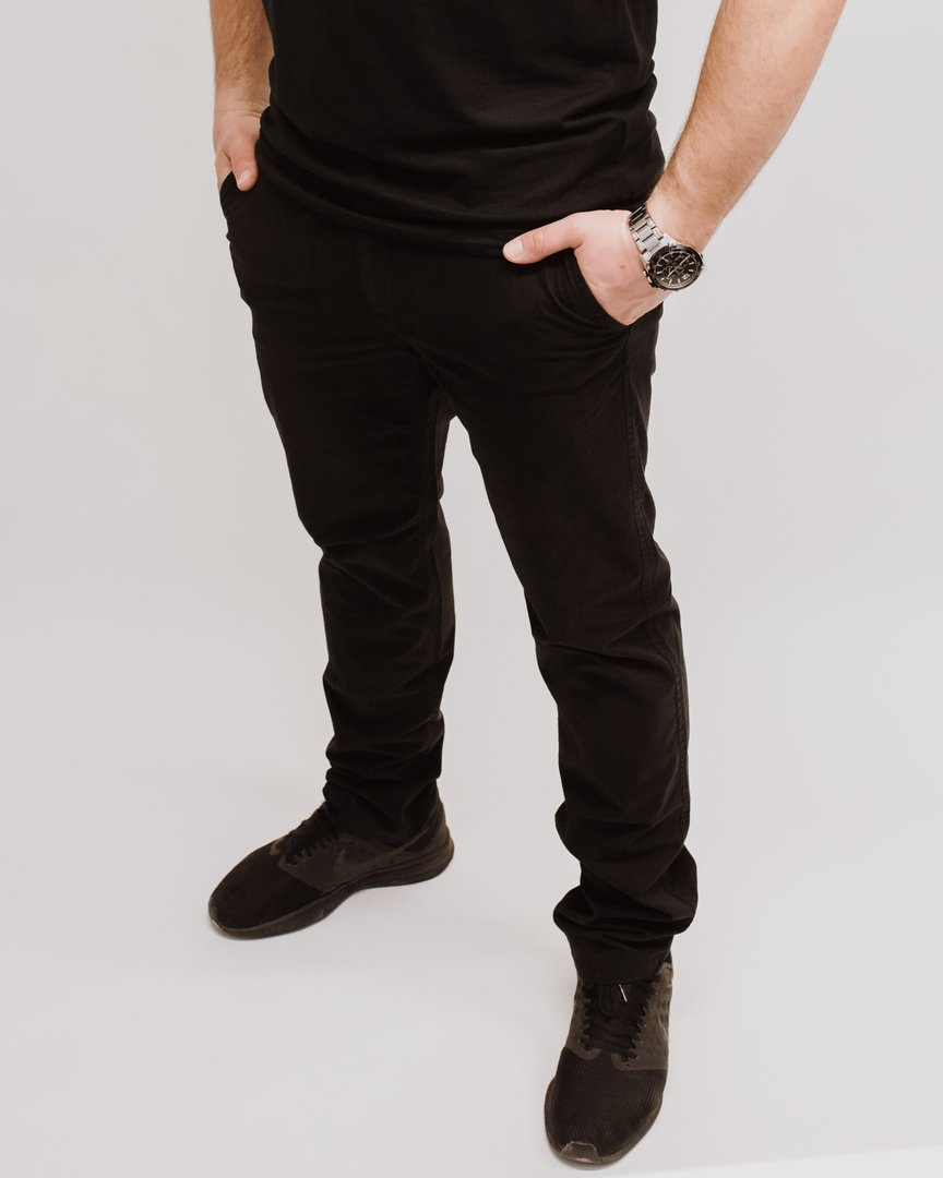"Chino Pants ""Blazon"" black"