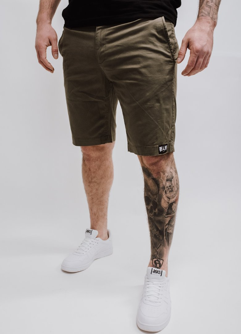 "Chino Short ""Blazon"" khaki"
