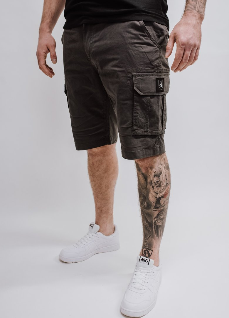 "Cargo Short ""Blazon"" dark grey"