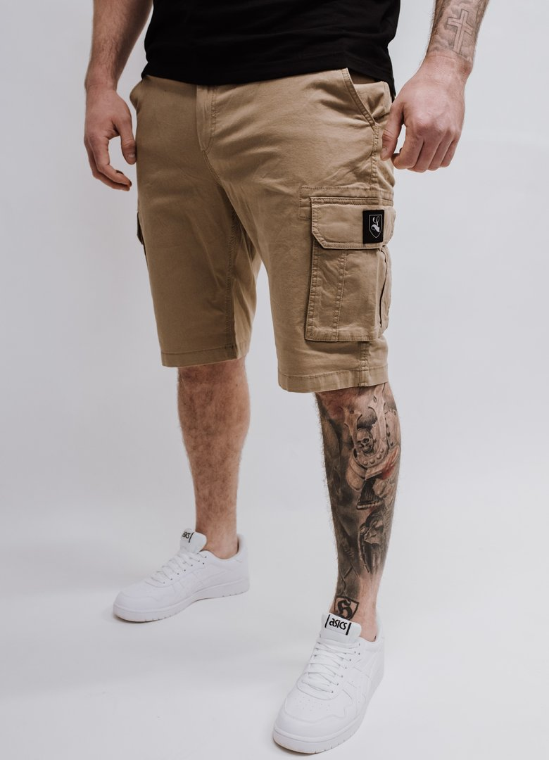 "Cargo Short ""Blazon"" camel"