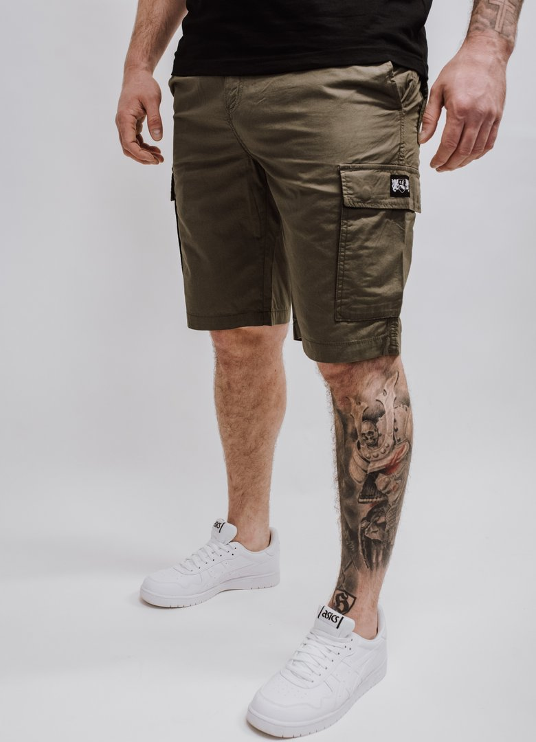 "Lightweight Cargo Short ""Blazon"" khaki"