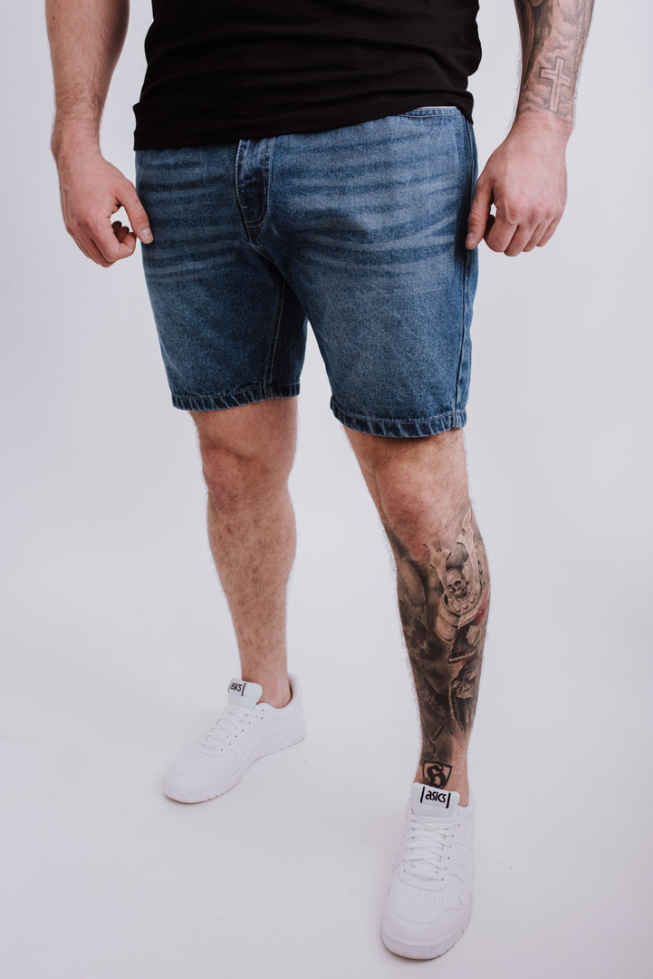 "5-Pocket Jeans Short ""Blazon"" Stone Washed"